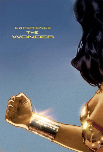 El póster de Wonder Woman que nunca fue