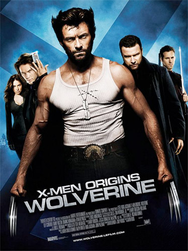 Nuevo cartel de X-Men Origins: Wolverine