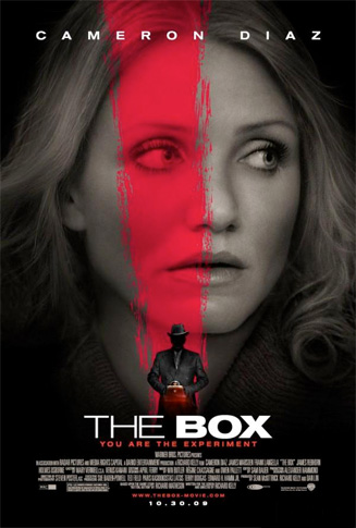 Primer póster de The Box