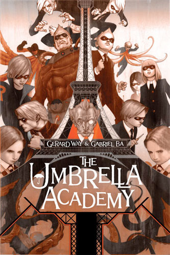 "Portada de ""The Umbrella Academy"""