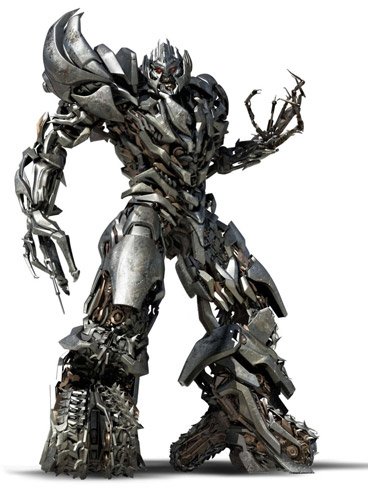 Megatron de Transformers: Revenge of the Fallen