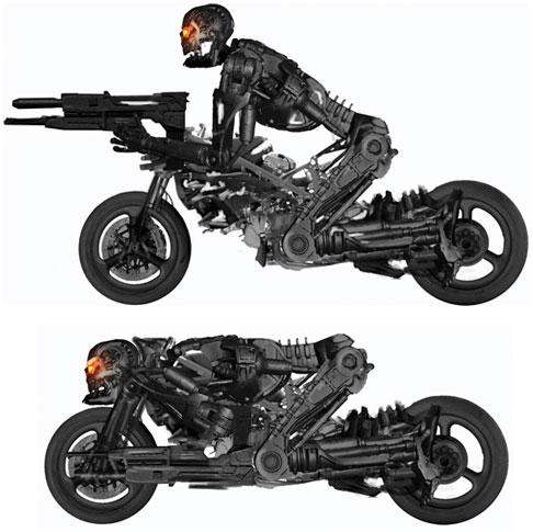 Las mototerminator de Terminator Salvation