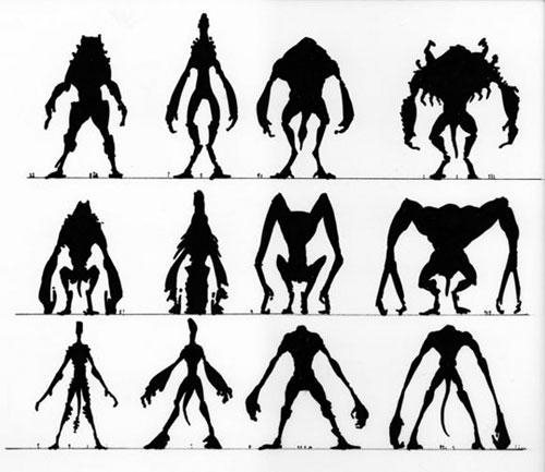 Evolución en los modelos para el monstruo de Cloverfield