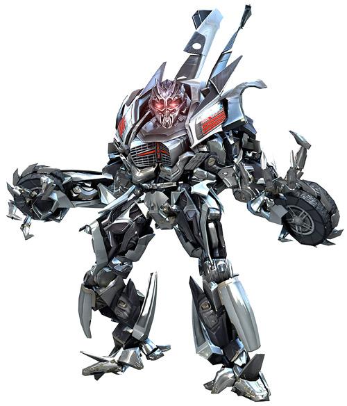 Diseño de Sideways para Transformers: Revenge of the Fallen