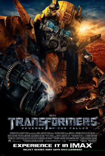 Nuevo cartel de Transformers: Revenge of the Fallen para salas IMAX