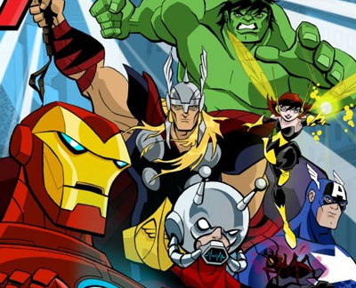 The Avengers al completo