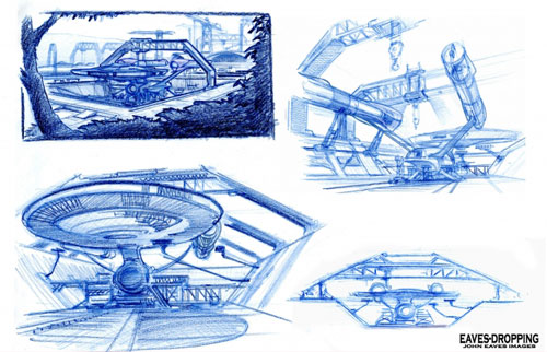Arte conceptual inicial de Star Trek