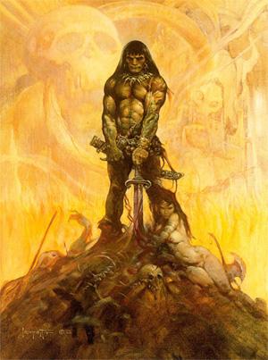 Conan por Frank Frazetta