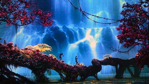 Dos Na'vi recorren Pandora