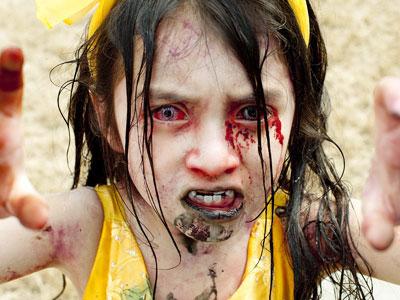 Niña zombi en Zombieland