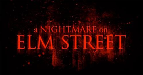 El formato del título de la nueva Pesadilla en Elm Street