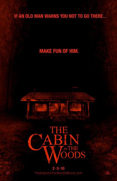 Póster de Cabin in the Woods
