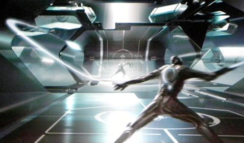 Arte conceptual de TRON LEGACY mostrado en la Comic-Con 2009