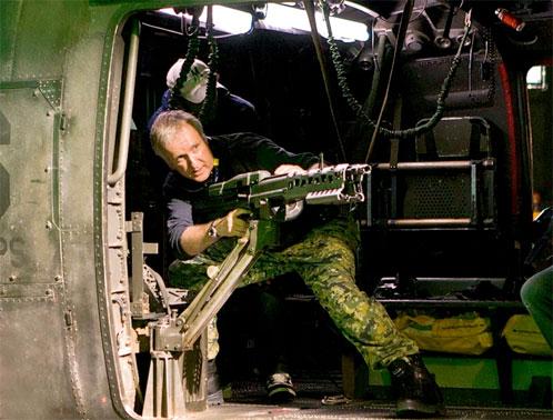 James Cameron haciendo el canelo en el rodaje de Avatar
