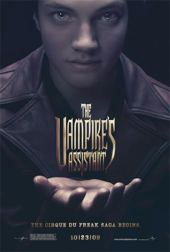 Primer cartel de The Vampire's Assistant (The Cirque du Freak)