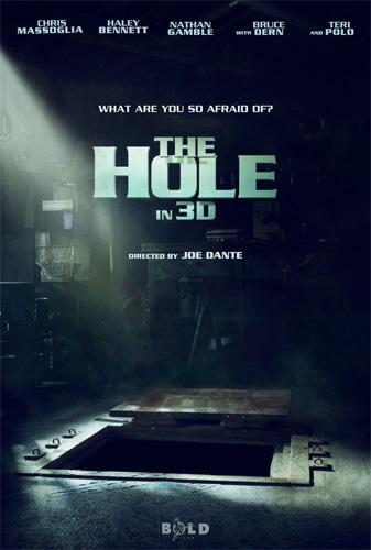 Teaser póster de The Hole 3-D