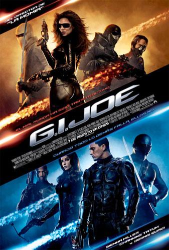 Póster español de G.I. Joe (G.I. Joe: The Rise of Cobra)