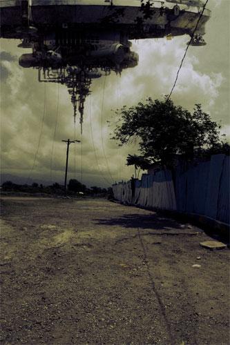 Arte conceptual + montaje de District 9