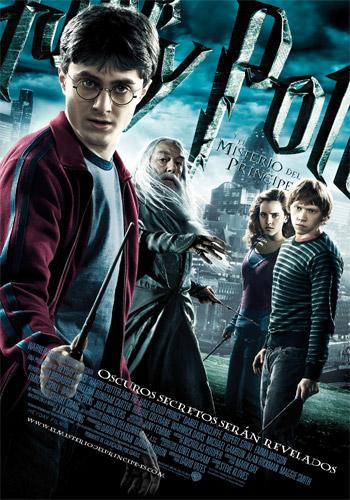 Póster español de Harry Potter y el misterio del príncipe