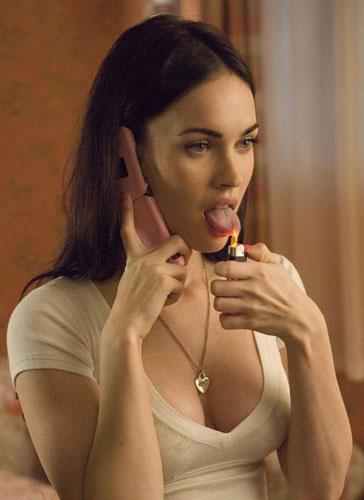 Megan Fox, mujer de lengua viperina y ardiente (en todos los sentidos)
