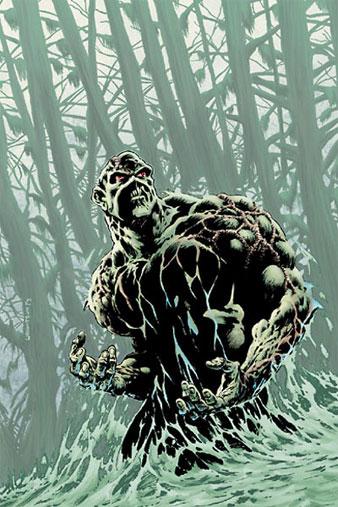 Swamp Thing de nuevo al cine... y en 3-D!