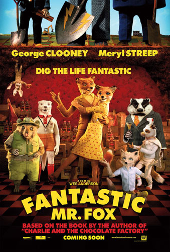 Nuevo cartel de Fantastic Mr. Fox