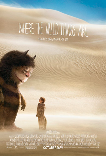 Nuevo cartel de Donde viven los monstruos (Where the Wild Things Are)
