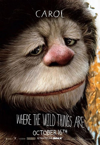 Nuevo póster de Where the Wild Things Are
