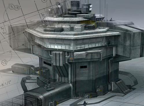 Uno de los diseños de Avatar de James Cameron