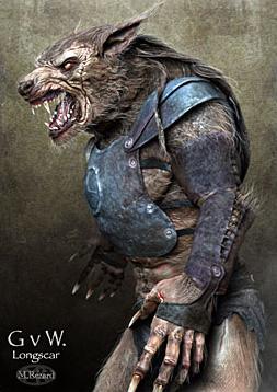 Arte conceptual de Gladiators V Werewolves: Edge of Empire