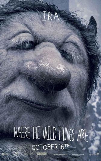 Nuevo cartel de Donde viven los monstruos